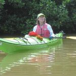 Lynne Diebel, Friends of the Badfish Creek Watershed organizer, is the Stoughton Courier Hub's 2015 Citizen of the Year. Although she loves to canoe familiar waterways, the author and retired Stoughton High School teacher is always up for an adventure. Her husband, Bob, snapped this photo of her during a kayaking trip to Isla de Los Pajaros in the Yucatan Peninsula in 2012.