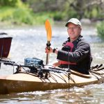 Eric Compas - inventor of kayak-mounted real-time water-quality monitoring device and dashboard - water quality - water monitoring - stream monitoring - citizen science