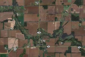 Google map of Badfish Creek